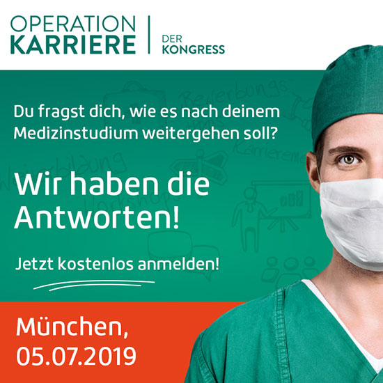 Operation Karriere Kongress München 2019